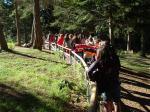 La guarda forestale introduce il nostro lago didattico