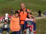 Foto con la guida alpina