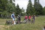Mountain bike alla malga di Coredo