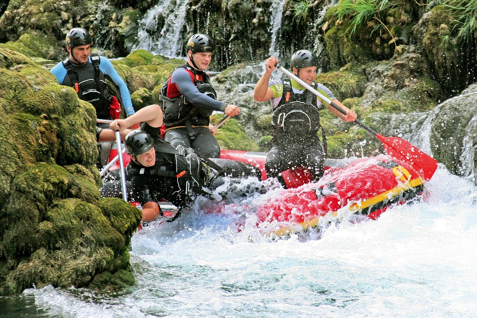 rafting uomini