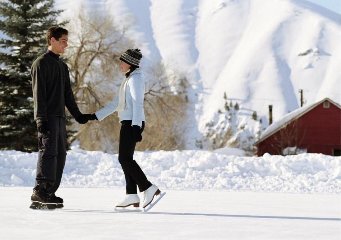 coppia al pattinaggio