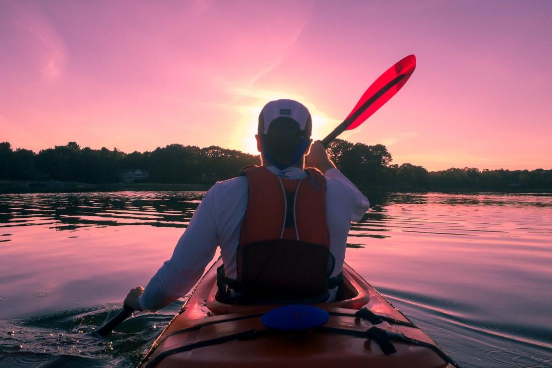 kayak-lago