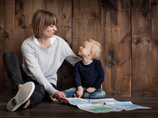 Speciale genitore single con bimbiLanciati nell